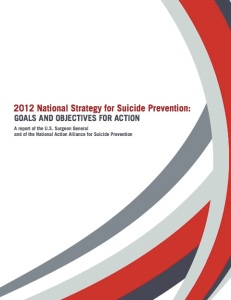 2012 National Strategy for Suicide Prevention